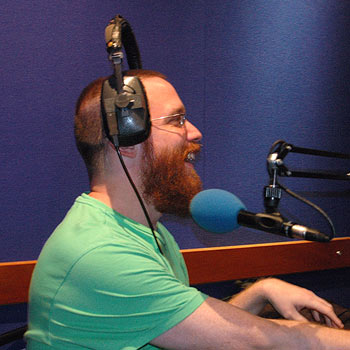 Jeb podcasting