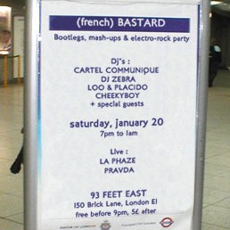 French Bastard Flyer by DJ Zebra