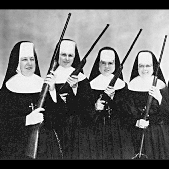 Nuns with Guns, what else?