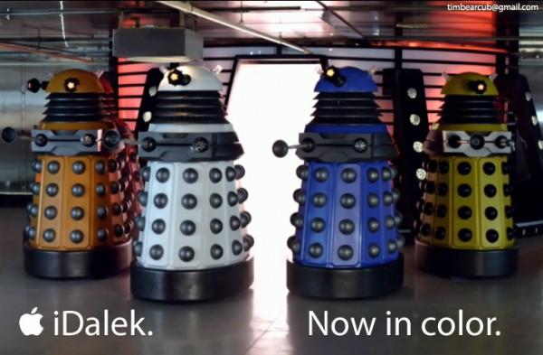 iDalek - now in color! by Tim