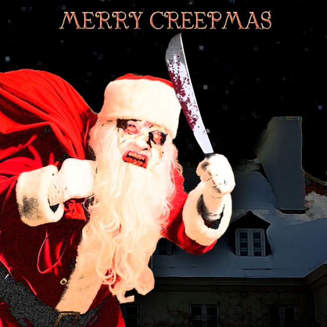 MERRY CREEPMAS - Cover