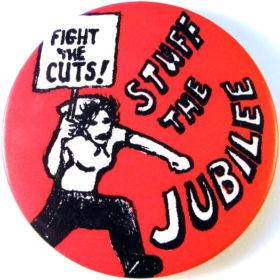 Original 1977 design Stuff the Jubilee badge.