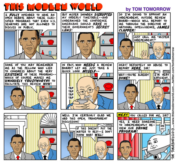 Tom Tomorrow - NSA