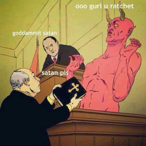 Satan pls