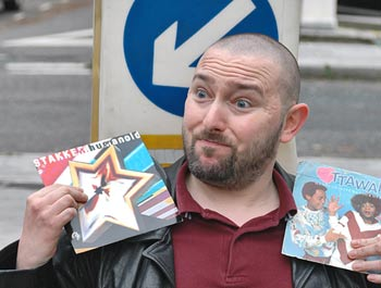 Who will buy mt luvverly records? Tuppence a pound!