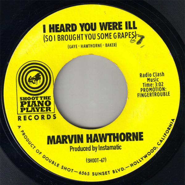 "Newly rediscovered Northern Soul gem off 7"" - I Heard You Were Ill (So I Brought You Grapes) (Marvin Gaye vs Mayer Hawthorne) marvinhawthorne"