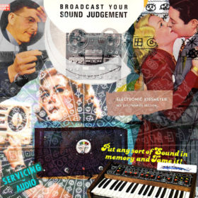 Broadcast Your Sound Judgement / Servicing Audio (RC 243 Cover)