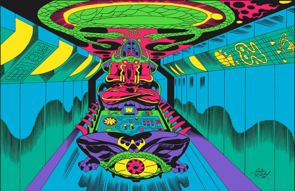 Jet Tube Transporter Jack Kirby