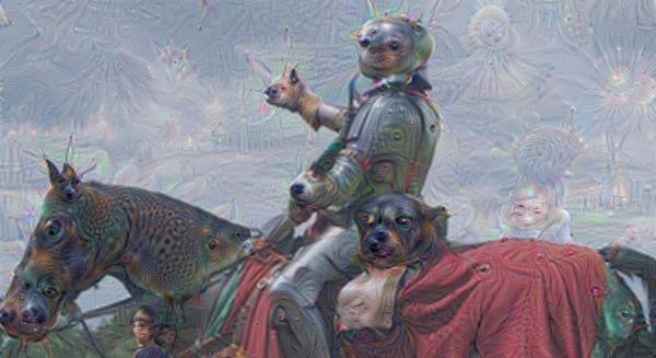 Deep Dream knight