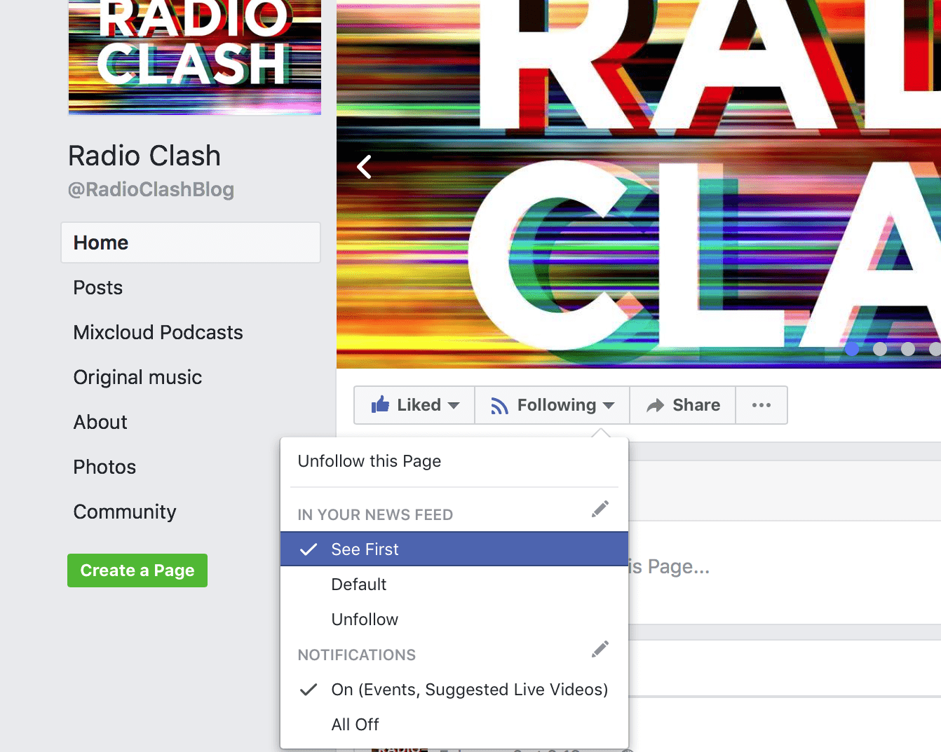You are feeling sleeeeepy...you are subscribing to Radio Clash...you are then clicking 'See first'...you are giving me your credit card number....